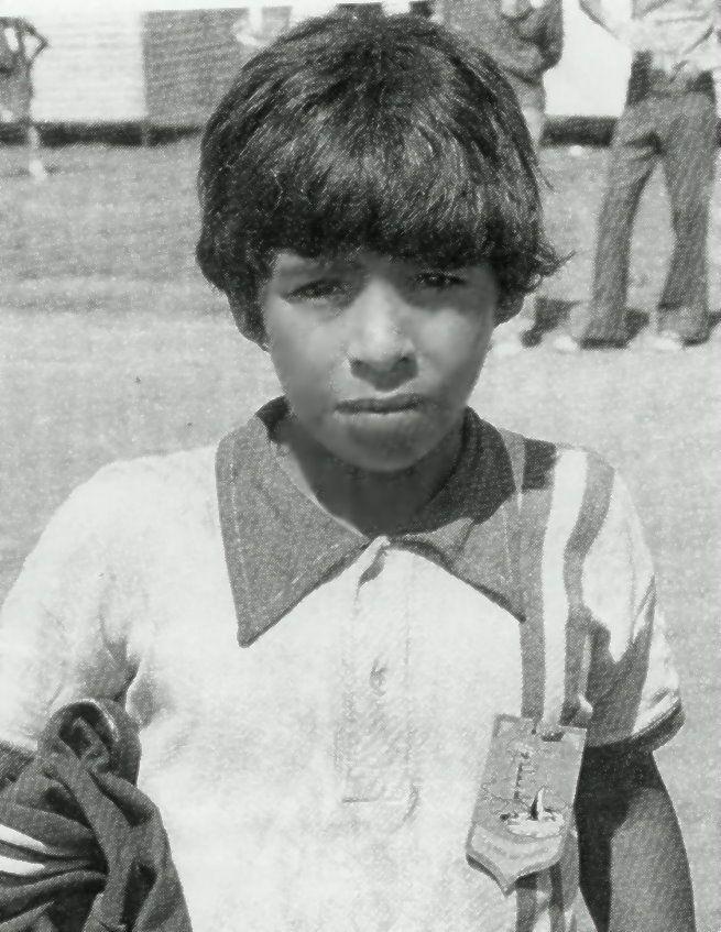 Diego Maradona Jung