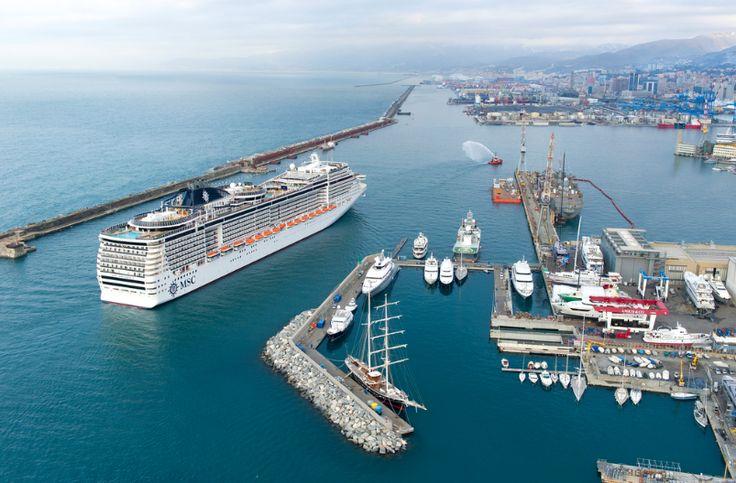 #MSCPreziosa en puerto