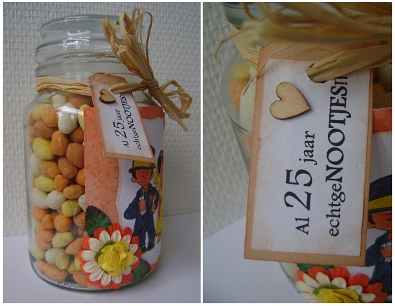great idea for a wedding found at; http://miekscrap.blogspot.nl
