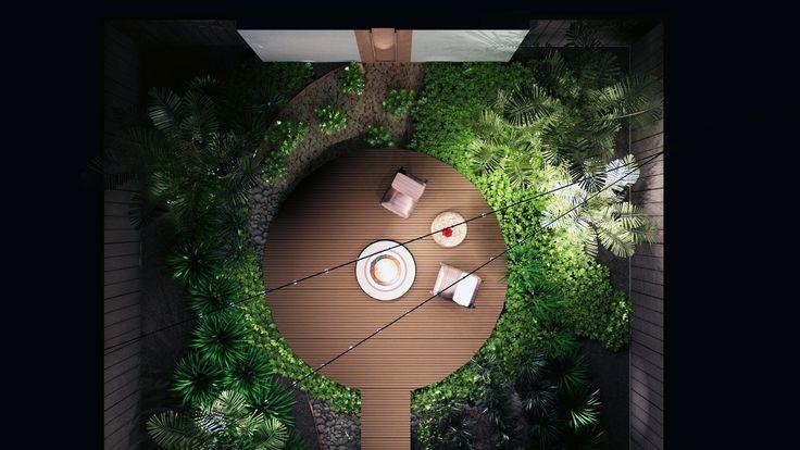 The power of 3D - Bog Garden Concept eastonecoscapes.com.au