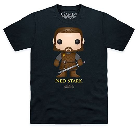 Funko Pop! Game of Thrones Ned Stark Official T-Shirt (affiliate link)