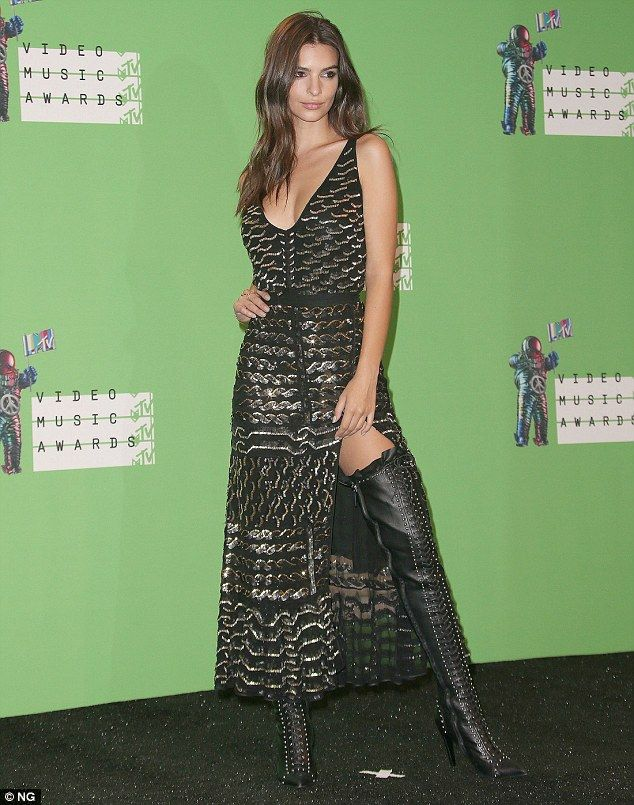 In demand: The star, pictured at last Sunday's MTV Video music awards in Los Angeles, sai...