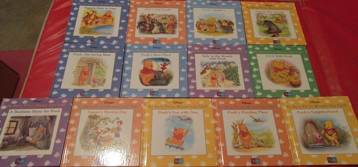 Disney's Winnie the Pooh book set, hardcover, lot of 13 books | Books, Children & Young Adults, Other Children & Young Adults | eBay!
