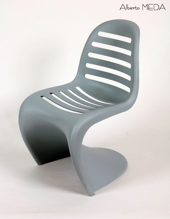 Panton chair revisited by alberto meda verner panton for Chaise panton