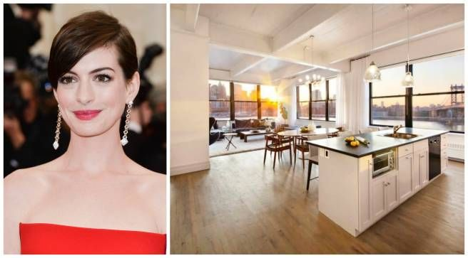 Anne Hathaway Apartment - Celebrity Homes For Sale - ELLE DECOR