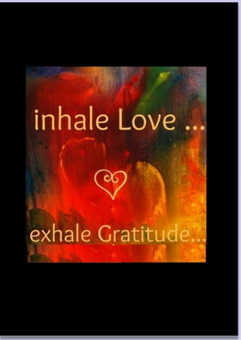 Inhale love