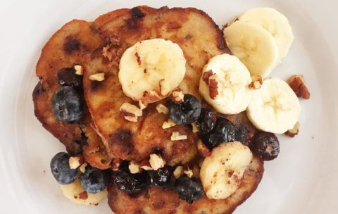 banana-almond-pancakes