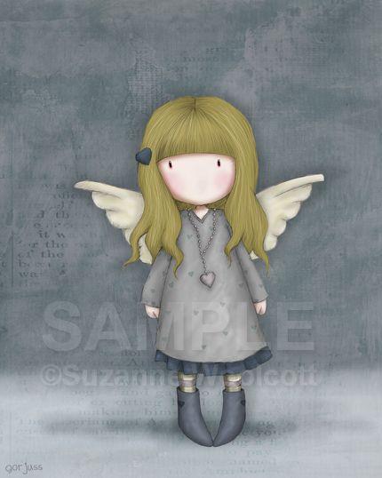 Boceto de Suzanne Woolcott. #Gorjuss. www.tiendagorjuss.com