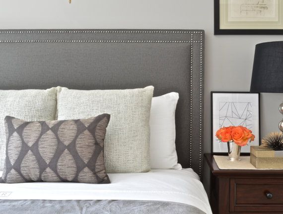 Upholstered Headboard King Queen Full Twin Oxford