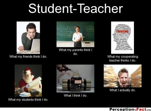 Funny Student Teacher Meme Showing What Friends Parents Teachers And Students Think They Do Compared To What Th Teacher Memes Funny Teacher Memes Teacher Humor