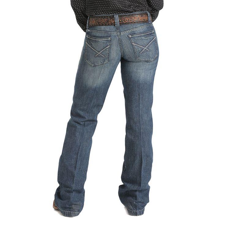 Cinch Women's Bailey Straight Leg Jeans