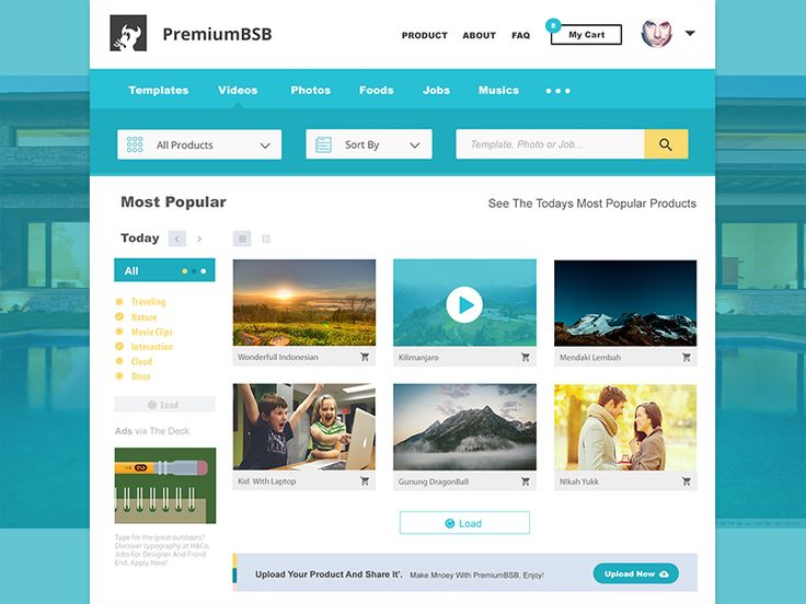 Video Page by ∞ Reza Padillah ∞