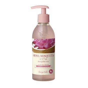 Rosa Mosqueta del Cile - Detergente viso con olio di Rosa Mosqueta elasticizzante (250 ml)