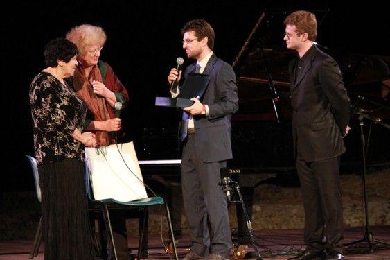 La consegna del Premio NEM/Musica 2014 a Natalia Gutman