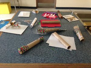 how to make percussion instruments out of recycled materials