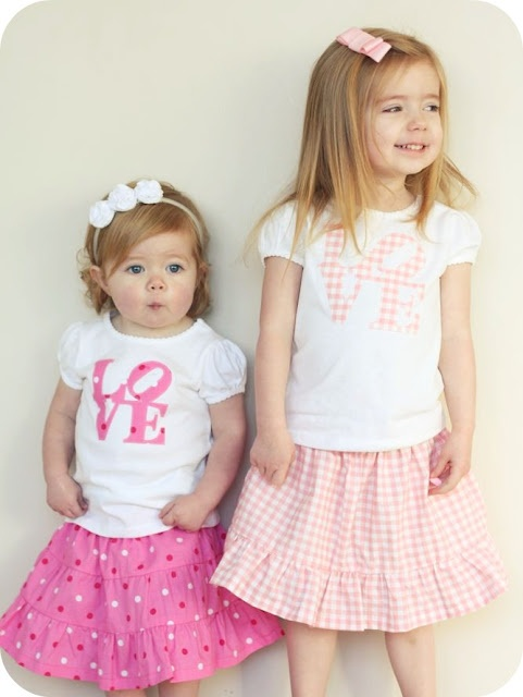Spring skirts: Sewing Projects, L O' V Tees, Diy Clothing, Sewing Ideas, Skirts Patterns, Tiered Skirts Tutorials, Skirttutori, Sewing Tutorials, Easy Tiered