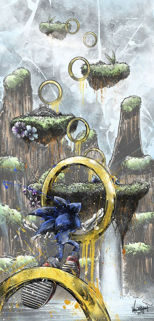 Sonic's Obstacle Course but i wish it exist in the game