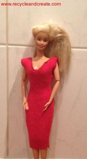 Barbie gratis patroon Poppendag partydress