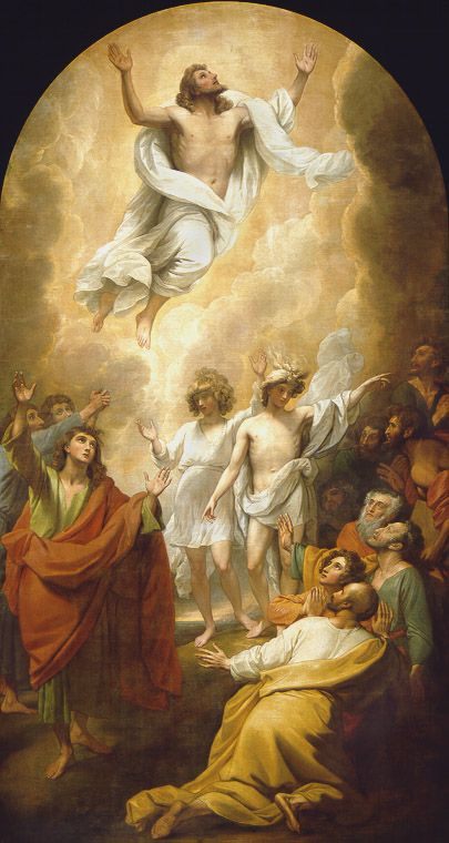 The Ascension; Benjamin West; BJU Museum & Gallery, Greenville, SC
