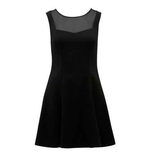 Lily mesh yoke day dress - Forever New
