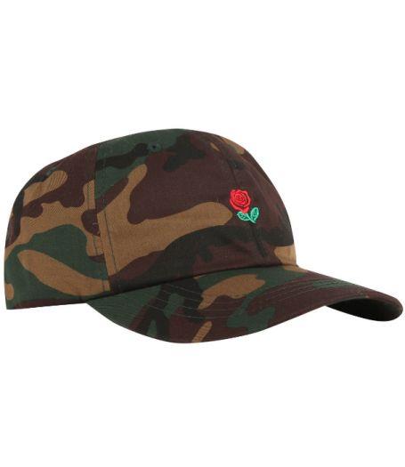 The Hundreds Rose Camo Strapback Hat (Camo)