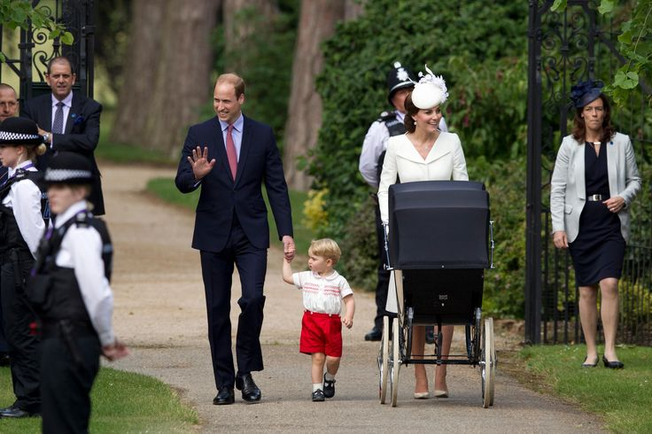 It's a big day for Princess Charlotte. On Sunday, the little royal was christened at St. Mary Magdalene Church on Queen Elizabeth's Sandringham Estate. It's also where the royal family spends each Christmas.