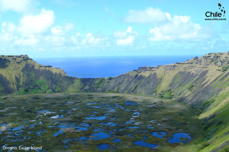 Come to Chile and discover Orongo in Easter Island