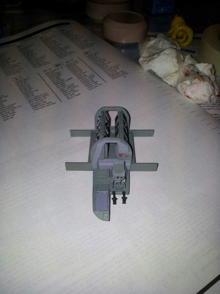 Cocpit and bomb arsenal from Heinkel He 111 H-6, 8x bombs weight 2000 kilograms, Scale 1:72