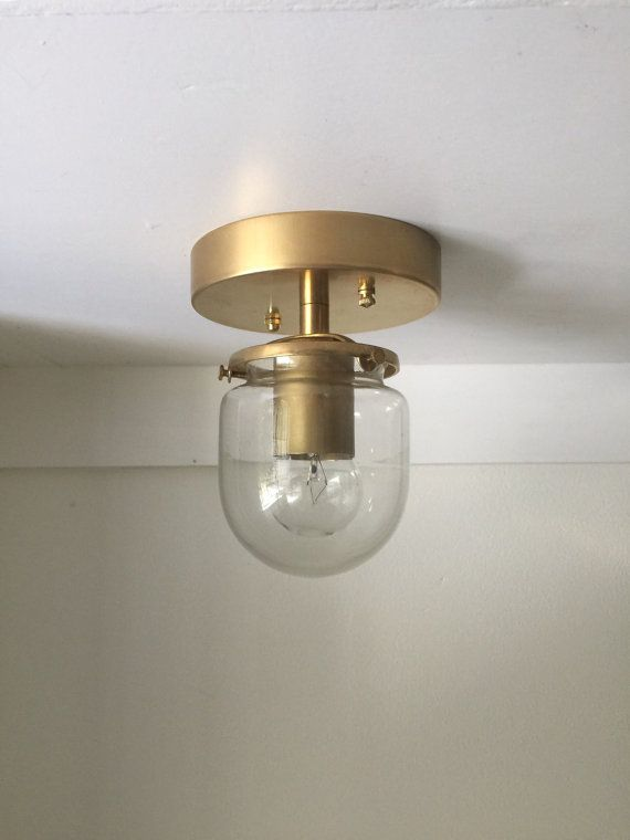 Pearl solid raw brass industrial modern wall sconce light lamp with milk glass globe ul listed