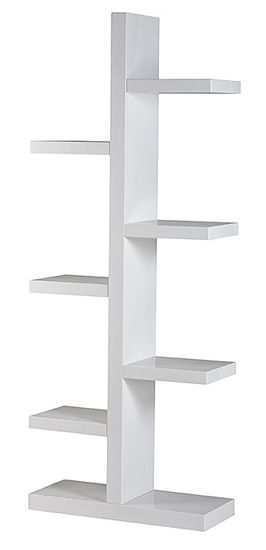 Furniture : Bookcases + Storage, Brosna Bookcase - White from Urban Barn to complement your style.