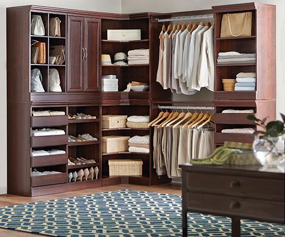 Manhattan modular storage drawers closet cabinets - Modular bedroom furniture systems ...