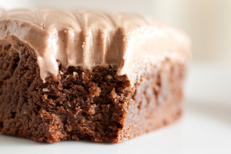 Old Fashioned Brownies with Chocolate Cream Cheese Frosting