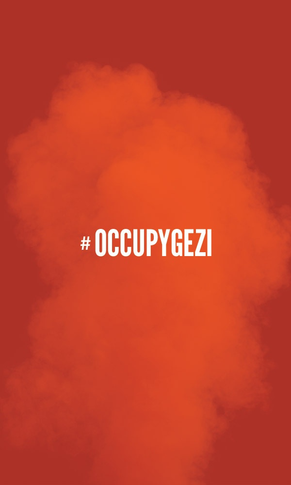 #OccupyGezi #DirenGeziParkı by Gokhun Guneyhan, via Behance