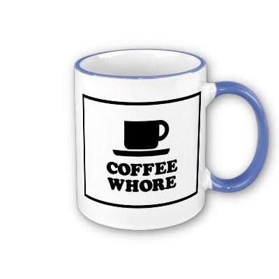 Coffee Whore Coffee MugExclusively Coffee Whore, Coffe Whore, Whore Coffee, Mugs And, Funny, Coffee Mugs, I Am, Coffeee B, Ahhhh Coffee