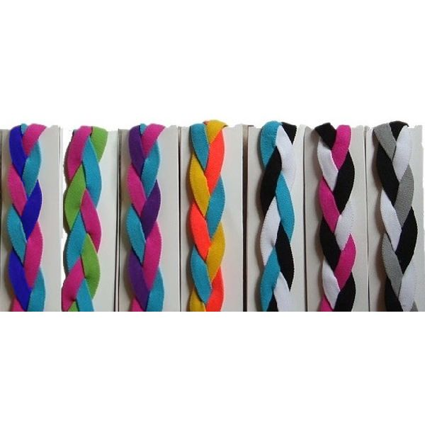 NEW at All Volleyball! Braided Headbands that don't slip! $5.99