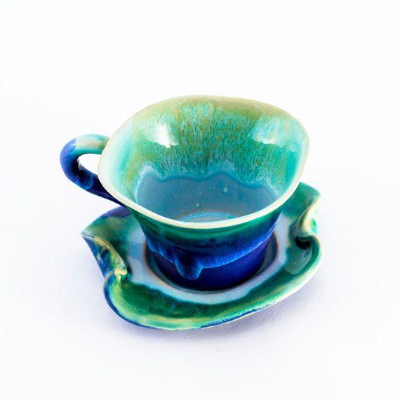 Tazza di caffè cappuccino in ceramica gres porcellanato di Artmika