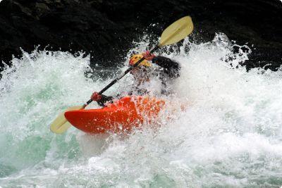 Man sailing wild water #bratislava #stagdo