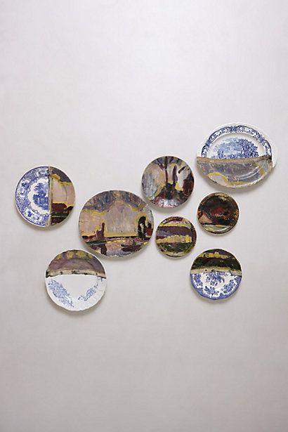 Haarlemmermeer Plate Collage  #anthropologie DETAILS