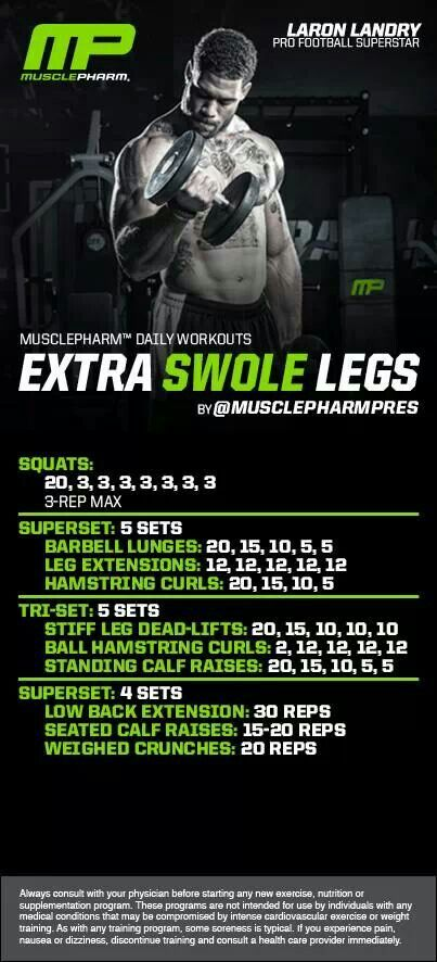 MusclePharm Extra Swole Legs