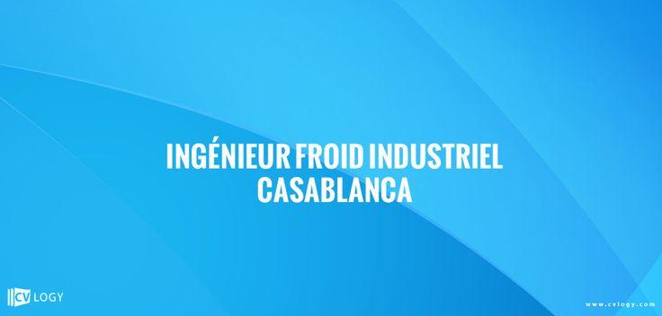 #Recrutement d'#ingénieur en #froid #industriel------->