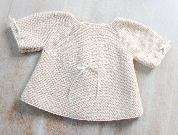 Baby Brassiere / Knitting Pattern / French por LittleFrenchKnits