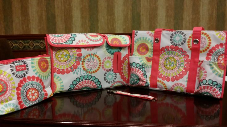 Needed a cute baby shower gift. How about the Zip-Top Organizing Utility Tote, the Pack N' Pull Caddy, Hang it up Key Fob and a Thermal Zipper Pouch. www.mythirtyone.com/tworustichearts