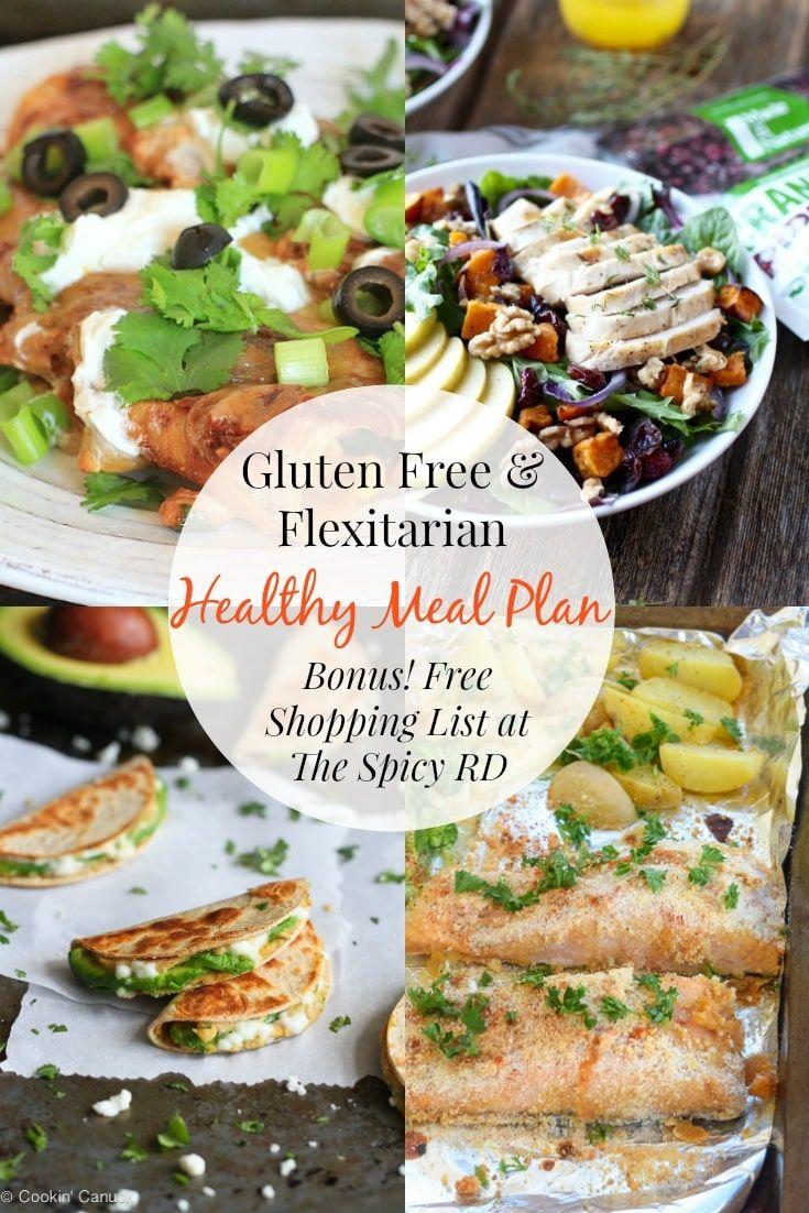 Health dinner gluten free