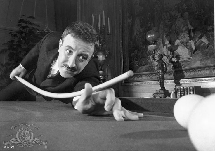 "Peter Sellers in ""A Shot in the Dark"" 1964 (Blake Edwards)"