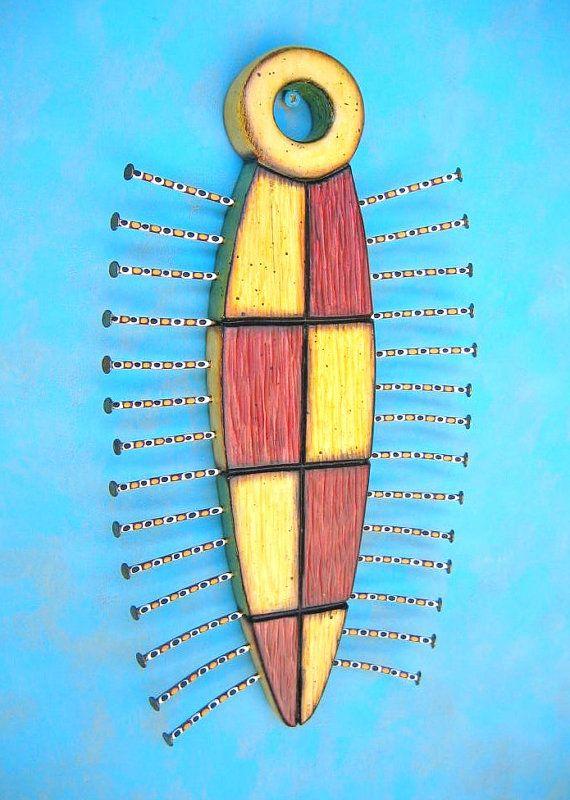 Obras de arte originales por Kerry Presidente de la Junta brezo. Esta escultura única fue creado a partir de madera recuperado, doblar clavos y pinturas acrílicas. Acabado con una capa transparente de acrílico satinada. Tamaño, 11 1/2 alto X 6 1/2 ancho X 3/4 de profundidad. Uno de una pieza de arte bueno! Firmada y fechada en la parte posterior y listo para mostrar en tu muro! Correo de prioridad en los Estados Unidos, incluidos las naves! >>>>>>>>&...