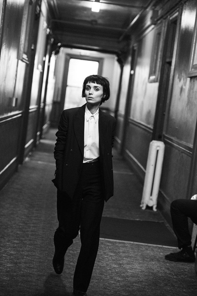 Peter Lindbergh | Rooney Mara, W Magazine, The Movie Issue, February 2016, Best Performances | Edward Enninful, Odile Gilbert, Stéphane Marais