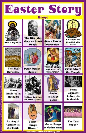 66 best images about B-I-N-G-O on Pinterest | Easter story, Psalm ...