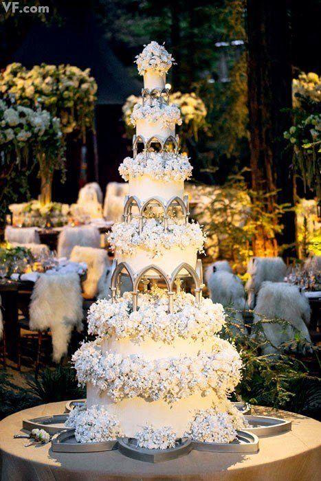 Rivendell wedding cake