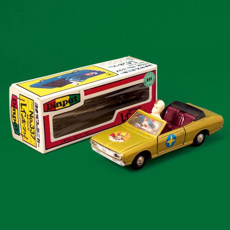 ダイヤペット337 レインボーマン 日産セドリックオープン 米澤玩具 1972