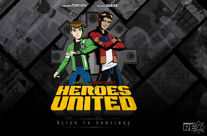 Ben 10 And Generator Rex Heroes : Play and enjoy best part of the most brave team in the galaxy? Ben 10 And Generator Rex: Heroes United join forces to battle a powerful inter-dimensional menace in this classic adventure for up to two players.